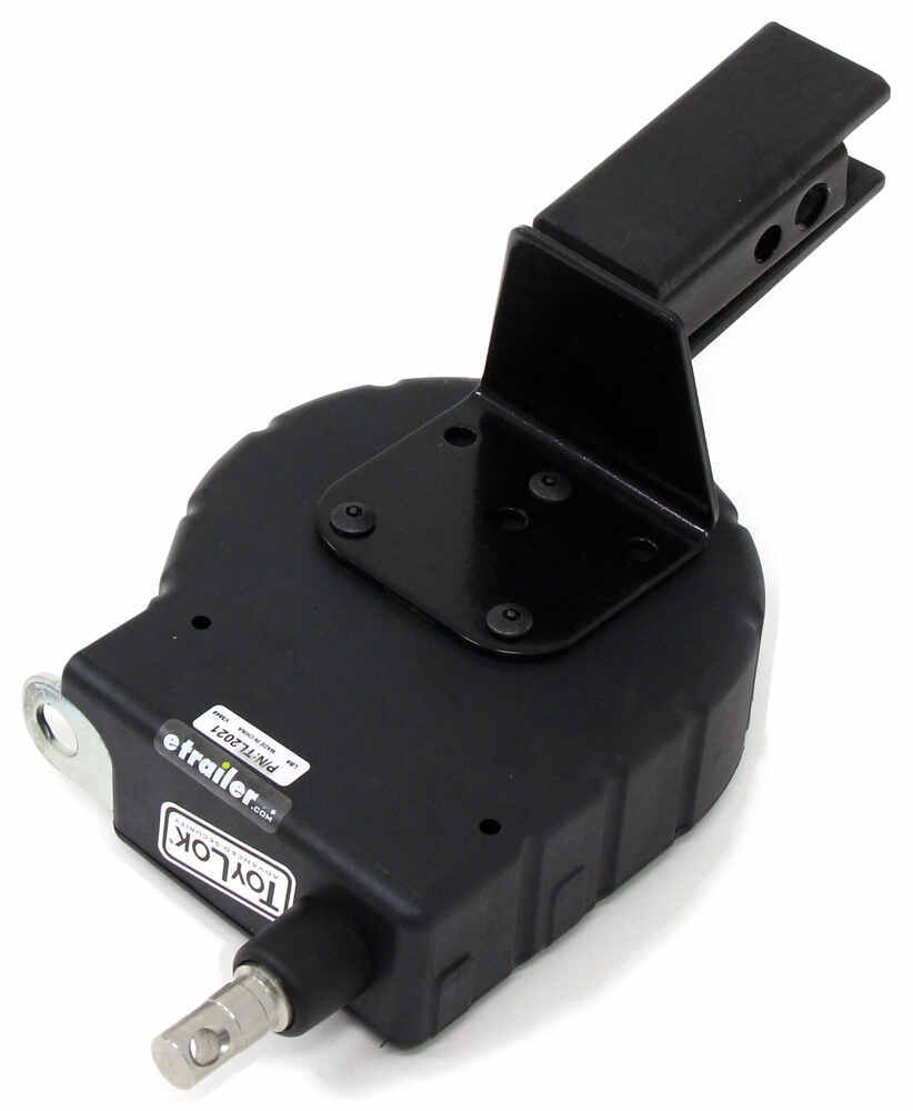"""ToyLok Hitch Mounted Retractable Cable Lock - 15' - Nylon - 1-1/4"""" or 2"""" Hitch Standard Cable LC337120-337111"""