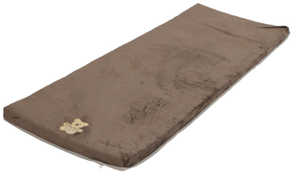 "Teddy Bear RV Bunk Bed Mattress - 74"" Long x 26"" Wide x 3"" Tall - Chocolate Square-Cut Corners LC73FR"