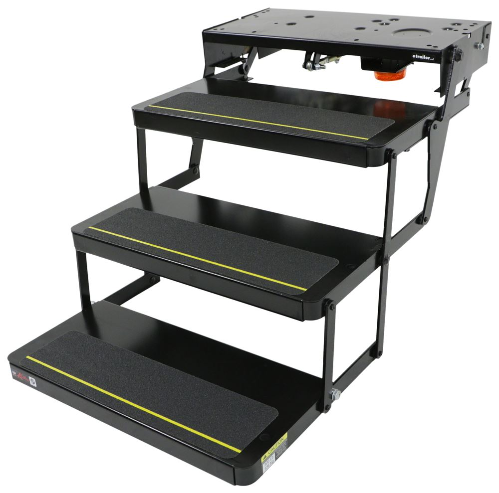 RV and Camper Steps LC365837 - No Ground Contact - Kwikee