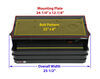 """Replacement Steps, Motor, and Control for Kwikee RV Electric Steps - 25 Series - 24"""" Wide 8 Inch Drop/Rise LC365837"""