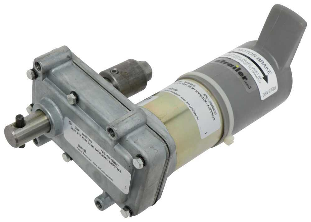 RV Slide Out Parts LC368193 - Motor - Lippert