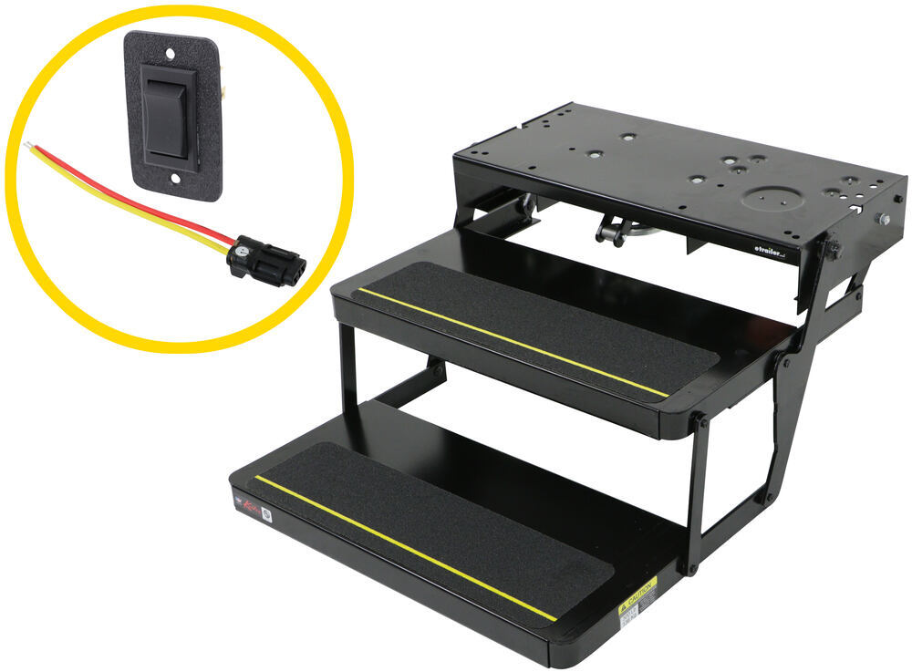 Kwikee Electric Step RV and Camper Steps - LC3722617