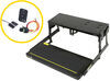 kwikee rv and camper steps motorhome no ground contact electric step complete assembly - single 33 series 28-1/8 inch wide