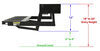 kwikee rv and camper steps motorhome electric step dimensions