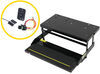 kwikee rv and camper steps motorhome electric step complete assembly - single 39 series 23-7/8 inch wide