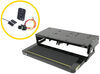 kwikee rv and camper steps motorhome no ground contact electric step complete assembly - single 36 series 30 inch wide