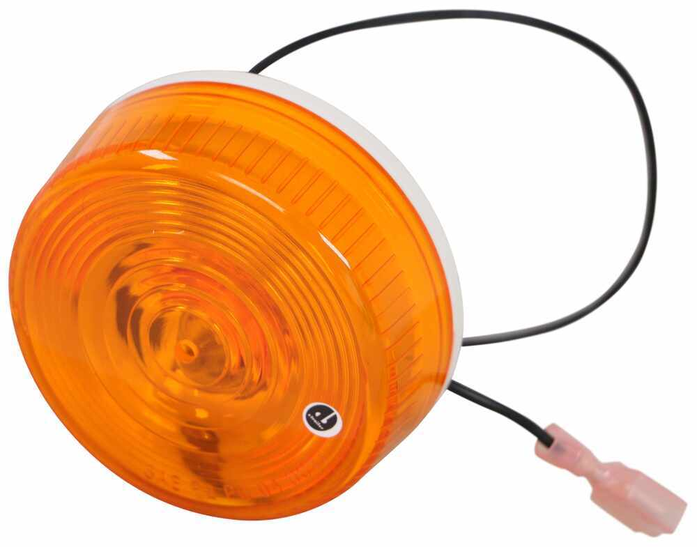 """Replacement Light Kit for Kwikee Electric RV Steps - Amber - 2-13/16"""" Diameter Lights LC379414"""