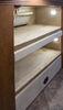 "Teddy Bear RV Bunk Bed Mattress - 74"" Long x 28"" Wide x 4"" Tall - Tan Single Sided LC380765"