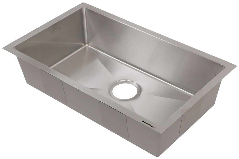 RV Sinks LC385313 - Stainless Steel - Lippert Components