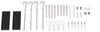 LC434720 - 81 - 96 Inch Long Lippert RV Awnings