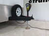 "Lippert Smart Jack Electric Trailer Jack w/ Footplate - A-Frame - 22-1/2"" Lift - 3.5K - Black Bolt-On LC643589"