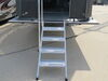0  rv and camper steps lippert components deck patio motorhome towable snap-on step in use