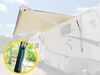 lippert rv awnings complete awning kits solera 18v power - 18' wide rechargeable battery white fade