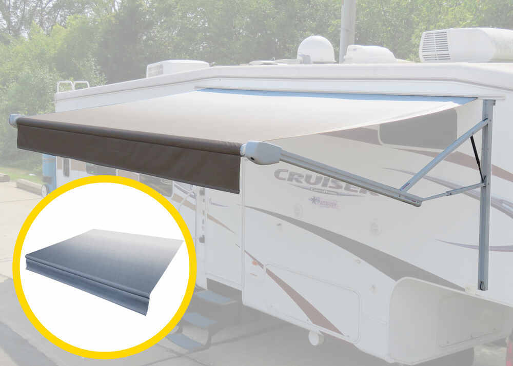 LC75FR - 21 Feet Wide Lippert Components Complete Awning Kits