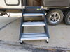 2018 forest river rockwood mini lite travel trailer rv and camper steps lippert components fold-down step ground contact lc791572