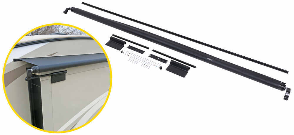 LCV000168106 - Black Lippert Components Slide-Out Awnings