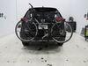2018 nissan rogue hitch bike racks lets go aero hanging rack tilt-away bikewing-2 nextgen 2-bike - 1-1/4 inch and 2 hitches tilting