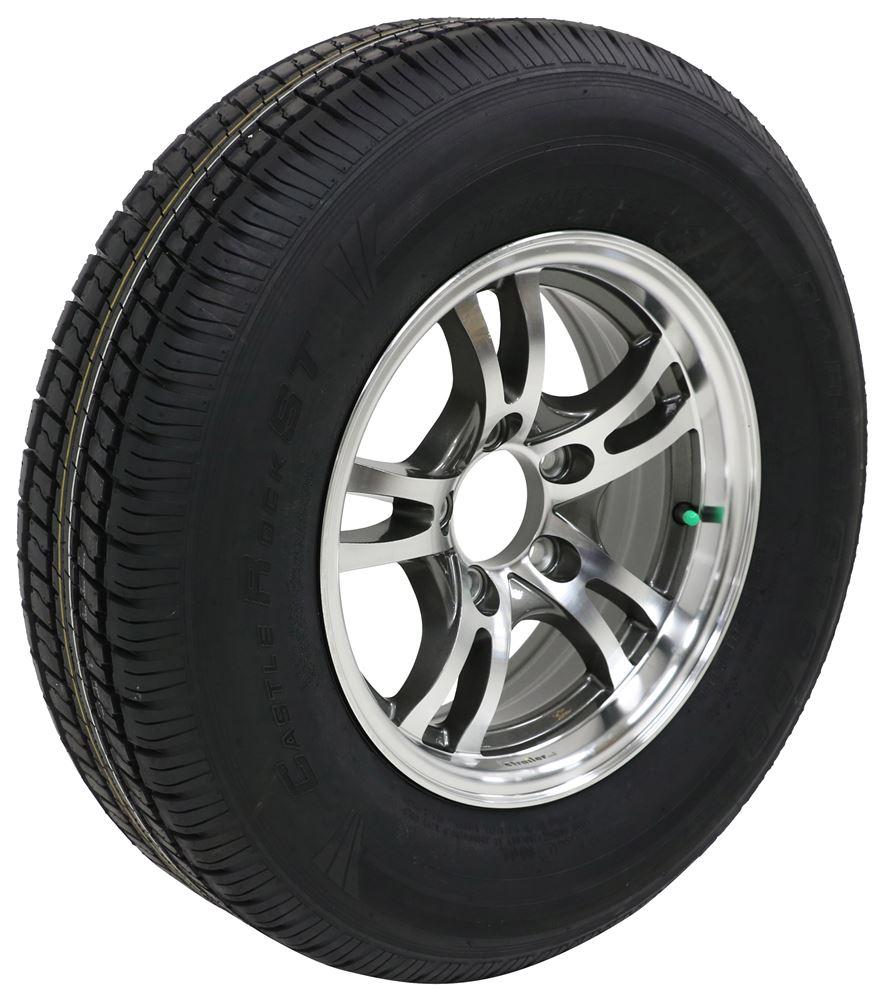 LHACKSJ211G - Load Range C Lionshead Tire with Wheel