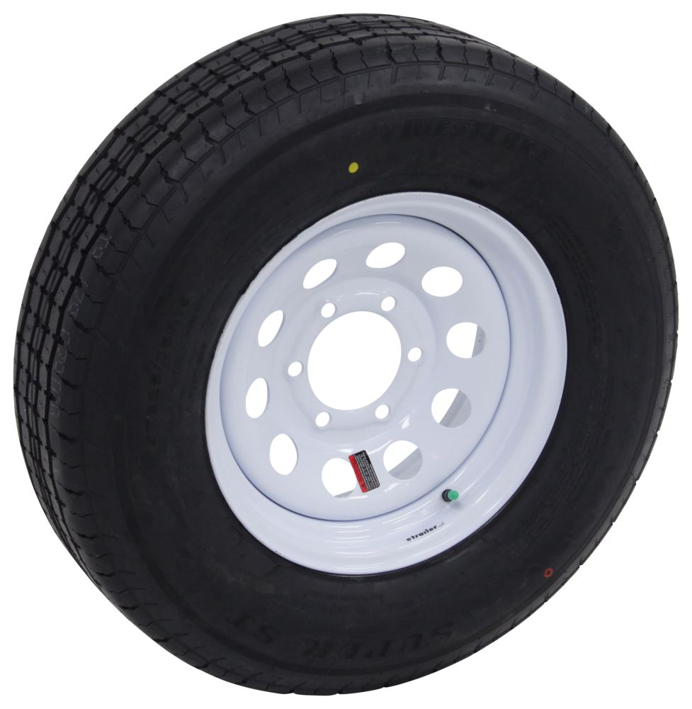 Trailer Tires and Wheels LHAW101 - 6 on 5-1/2 Inch - Westlake