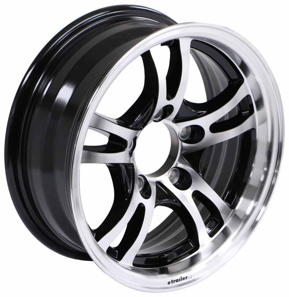 Lionshead 14 Inch Trailer Tires and Wheels - LHJA1455BMF