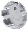 Snap-In Plug for Lionshead Trailer Wheel Center Caps - Chrome Wheel Trim LHSI60C