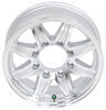 lionshead trailer tires and wheels wheel only 16 inch aluminum lynx - x 6 rim 8 on 6-1/2 silver