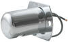 optronics trailer lights license plate non-submersible light heavy duty armored steel - chrome plated