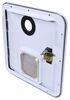 Replacement Access Door for Fogatti RV Tankless Water Heater - White White LSB94FR