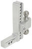 """180 Hitch 2-Ball Mount w/ Stainless Steel Balls - 2"""" Hitch - 10"""" Drop, 11"""" Rise - 10K Fits 2 Inch Hitch LTB10-2"""