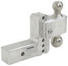 Trailer Hitch Ball Mount LTB4-25 - Stainless Steel Ball - Weigh Safe