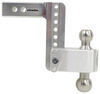 """180 Hitch 2-Ball Mount w/ Stainless Steel Balls - 2"""" Hitch - 6"""" Drop, 7"""" Rise - 12.5K Drop - 6 Inch,Rise - 7 Inch LTB6-2"""