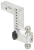 Trailer Hitch Ball Mount LTB8-25 - Stainless Steel Ball - Weigh Safe