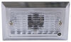 peterson trailer lights utility 3-3/4l x 2-1/4w inch compact light - incandescent rectangle chrome plated clear lens