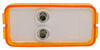Peterson Clearance and Side Marker Trailer Light - Submersible - Incandescent - Amber Lens Rectangle M150A