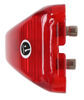 Peterson Clearance and Side Marker Trailer Light - Submersible - Incandescent - Red Lens Surface Mount M152R