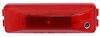 Peterson Piranha LED Clearance or Side Marker Trailer Light - Waterproof - 4 Diodes - Red Lens Rear Clearance,Side Marker M161R