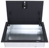 m-3 and associates trailer cargo organizers floor storage drilling required locking mounted box for enclosed trailers - 19 inch x 29 7-1/4