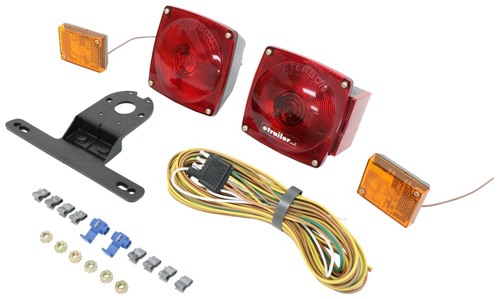 M540 - Red Peterson Trailer Lights