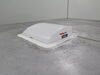 MaxxAir Mini Deluxe Trailer Roof Vent w/ 12V Fan - Powered - 1 Speed - White Vent MA00-03801