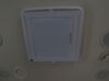 MaxxShade Plus Retractable RV Roof Vent Shade w/LEDs - White Insulator MA00-03901