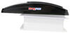 maxxair rv vents and fans roof vent with 12v fan maxxfan deluxe w/ thermostat - manual lift 10 speed smoke