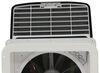 MaxxFan Deluxe Roof Vent w/ 12V Fan - Manual Lift - 4 Speed - Smoke 14W x 14L Inch MA00-06401K