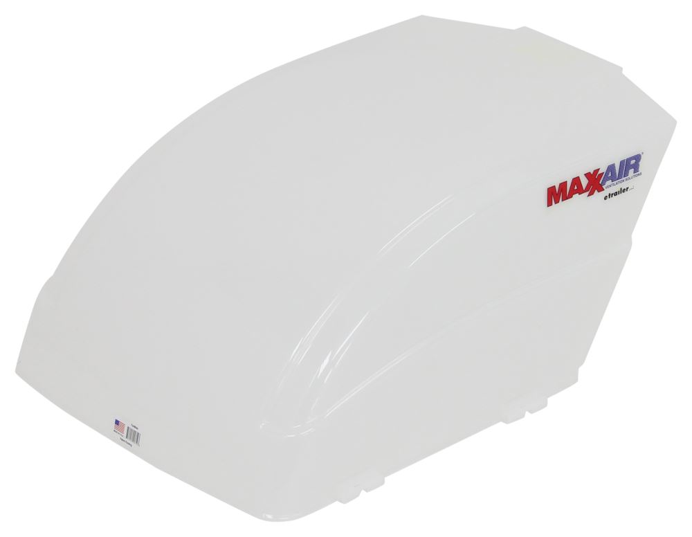 """MaxxAir FanMate RV and Trailer Roof Vent Cover - 25"""" x 18-1/8"""" x 10-1/4"""" - White Vent Cover MA00-955001"""