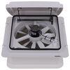 MaxxFan Roof Vent w/ 12V Fan - Manual Lift - 4 Speed - White Vent MA00A04301K