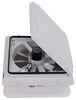 MA00A04301K - White MaxxAir RV Vents and Fans