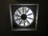 MaxxFan Roof Vent w/ 12V Fan - Manual Lift - 4 Speed - Smoke Tinted MA00A04401K