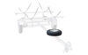 0  accessories and parts malone roof rack on wheels spare tire mal33fr