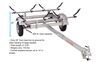 malone trailers v-style extra long tongue mal43fr