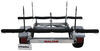 malone trailers roof rack on wheels 6w x 11l foot lowmax xtralight trailer with post style carriers for 4 kayaks - detachable tongue 600 lbs