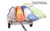 0  trailers malone roof rack on wheels ecolight sport trailer - 58 inch crossbars 400 lbs